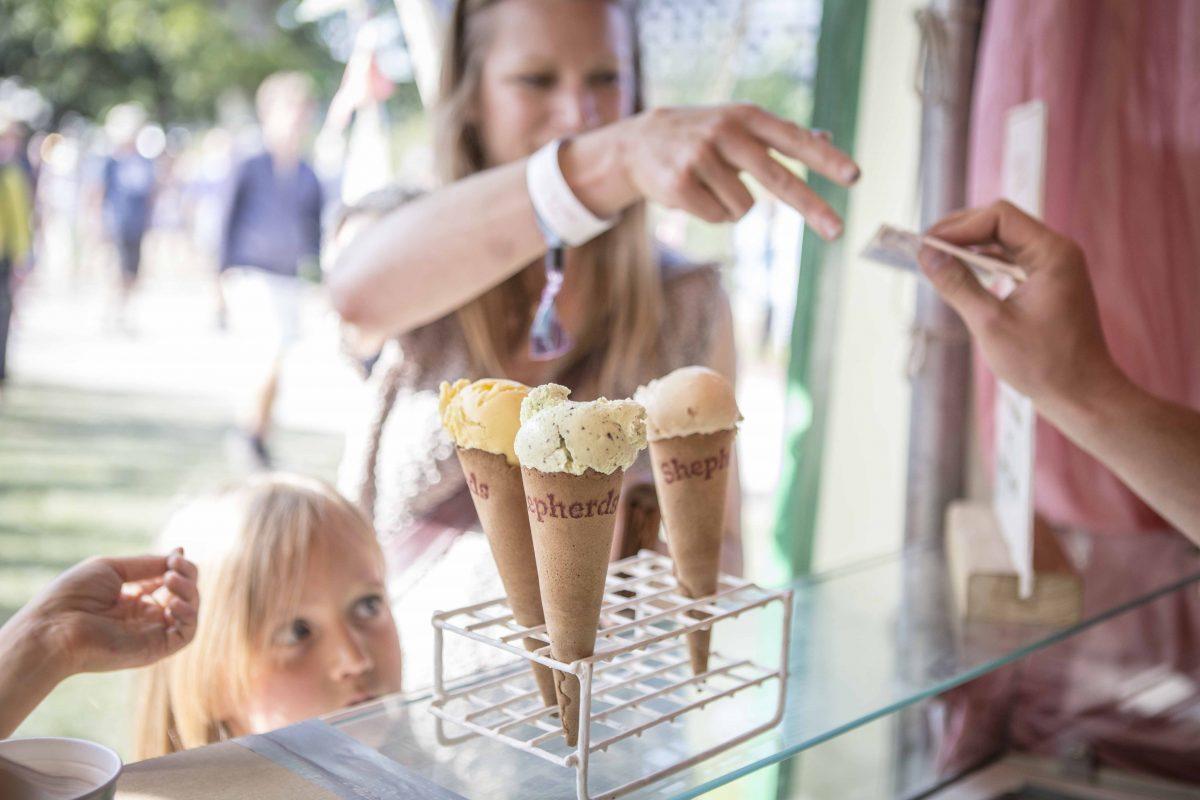 Shepherds ice creams mango sorbet